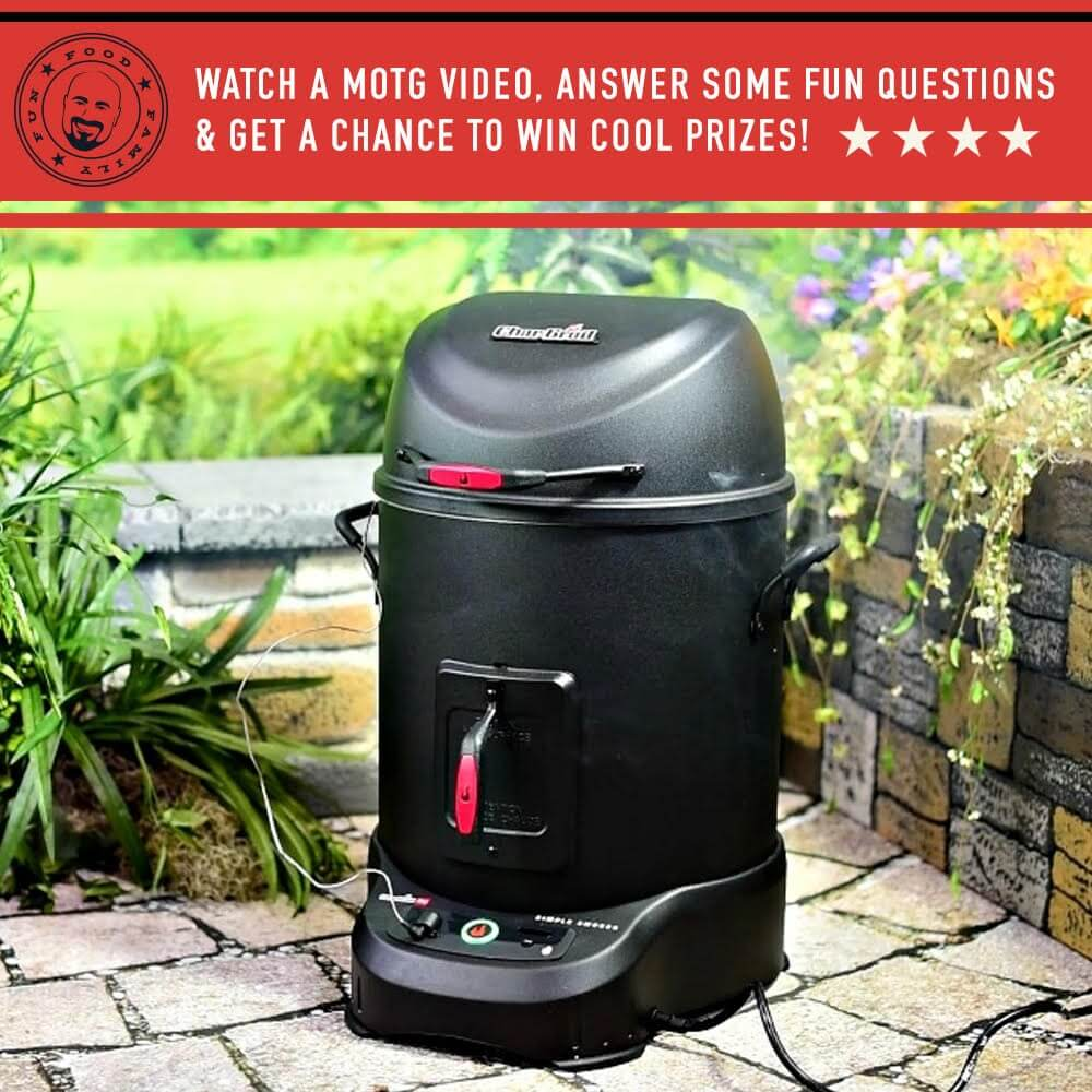 The Char-Broil® Simple Smoker with SmartChef® Technology